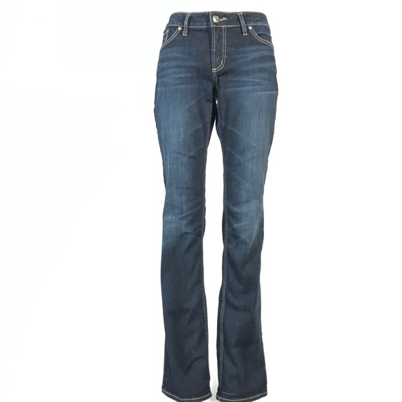 Silver Elyse slim boot jeans 29x35 tall